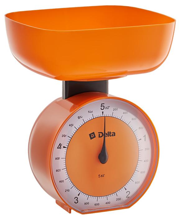 Delta КСА-104, Orange весы кухонные0R-00000221Весы бытовые настольные 5 кг DELTA КСА-104 с чашейПредельная масса взвешивания 5 кгЦена деления 40 гТип механическиеКорпус и чаша из высококачественного цветного пластикаТочная регулировка нулевого значенияАксессуарыЧаша для взвешивания