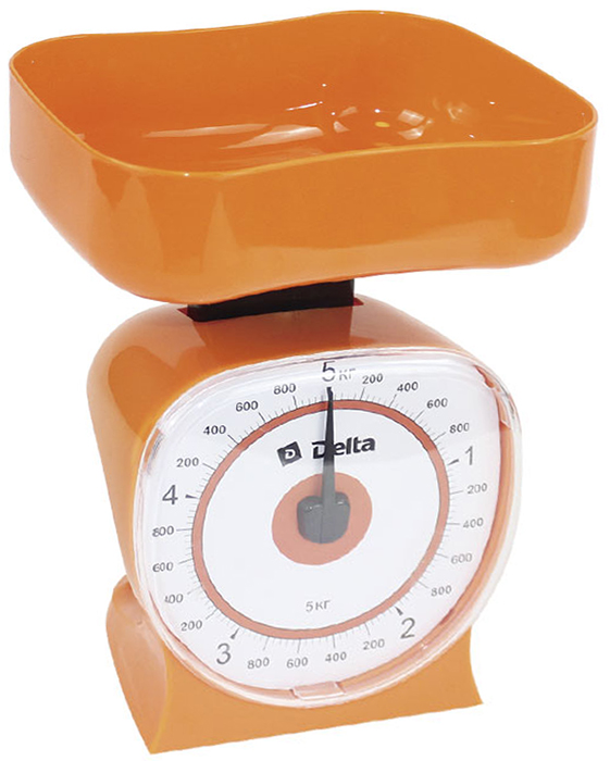 Delta КСА-106, Orange весы кухонные