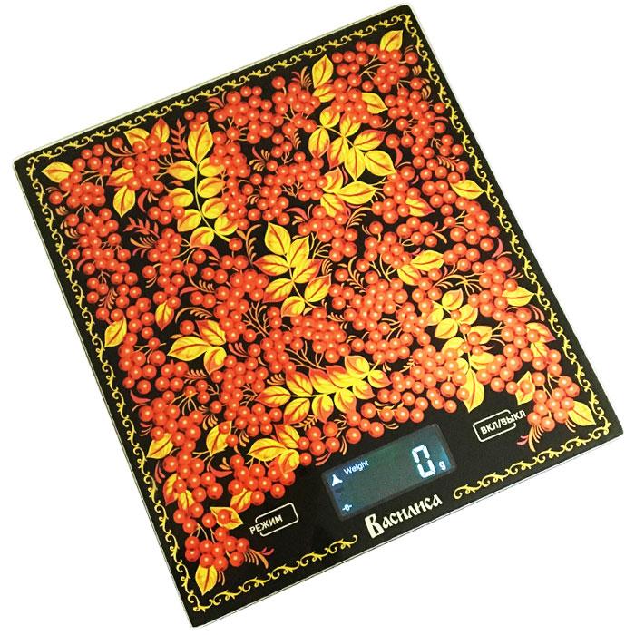 Василиса ВА-004 Рябина весы кухонные0R-00001813Весы электронные настольные ВАСИЛИСА ВА-004 Рябина Предельная масса взвешивания 5 кг Точность взвешивания ± 1 г Размер весов 20х18х1,5см Платформа из упрочненного стекла LCD дисплей Индикатор уровня заряда батареи и перегрузки весов Функция измерения объема жидкости: молоко, вода Функция сброса веса тары и обнуления позволяет последовательно взвешивать ингредиенты блюда, не учитывая массу посуды Выбор единицы измерения Автообнуление/автоотключение Электропитание: 2х1,5 В батарея типа ААА (в комплекте)