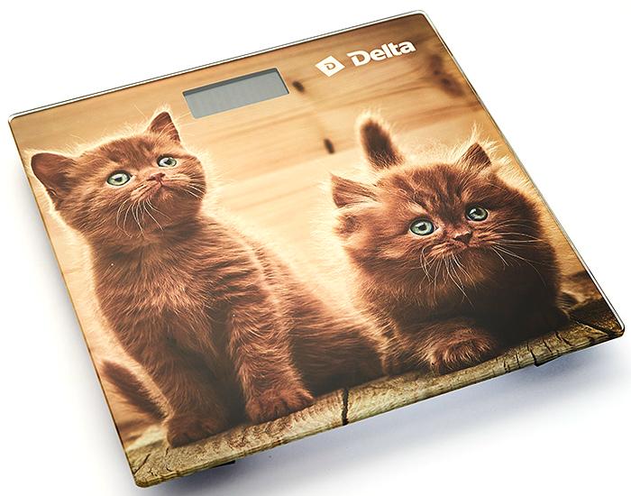 Delta -9229 Рыжие котята весы напольные