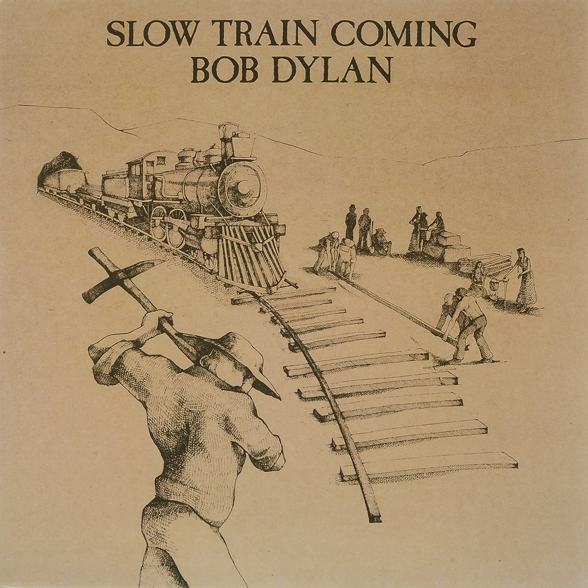 Боб Дилан Bob Dylan. Slow Train Coming (LP) on the slow train again
