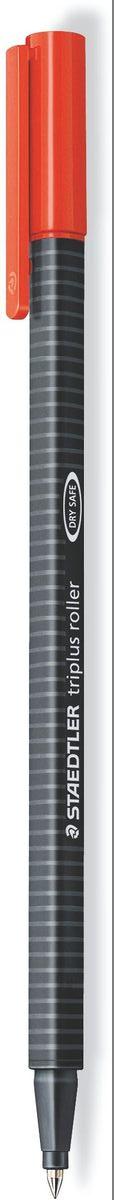 Staedtler Ручка роллер Triplus 0,3 мм цвет чернил красный403-2Трехгранная ручка-роллер triplus 403. Цвет красный. Эргономичная форма для удобного и легкого письма. Устойчивый к нажиму металлический пишущий узел. Превосходно гладкое письмо. Подходит для копий. Чернила на водной основе. Отстирываются с большинства тканей. Корпус из полипропилена гарантирует долгий срок службы. Безопасно для самолетов - автоматическое выравнивание давления предотвращает от вытекания чернил на борту самолета. Толщина линии примерно 0,4 мм.