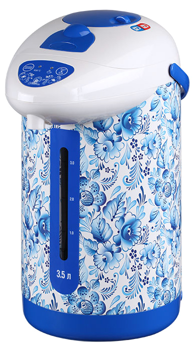 Василиса ВА-5002 Гжель-2 чайник-термос электрический миксер василиса ва 504 white grey blue