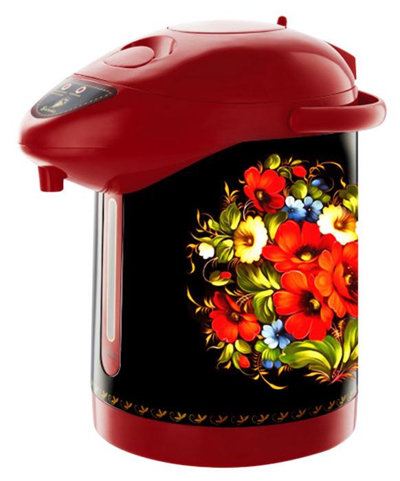 Василиса ВА-5005 Жостовская роспись чайник-термос электрический василиса ва 1011 жар птица чайник электрический