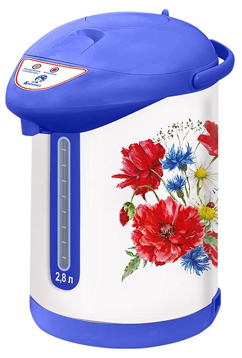 Василиса ТП7-820 Полевые цветы чайник-термос электрический