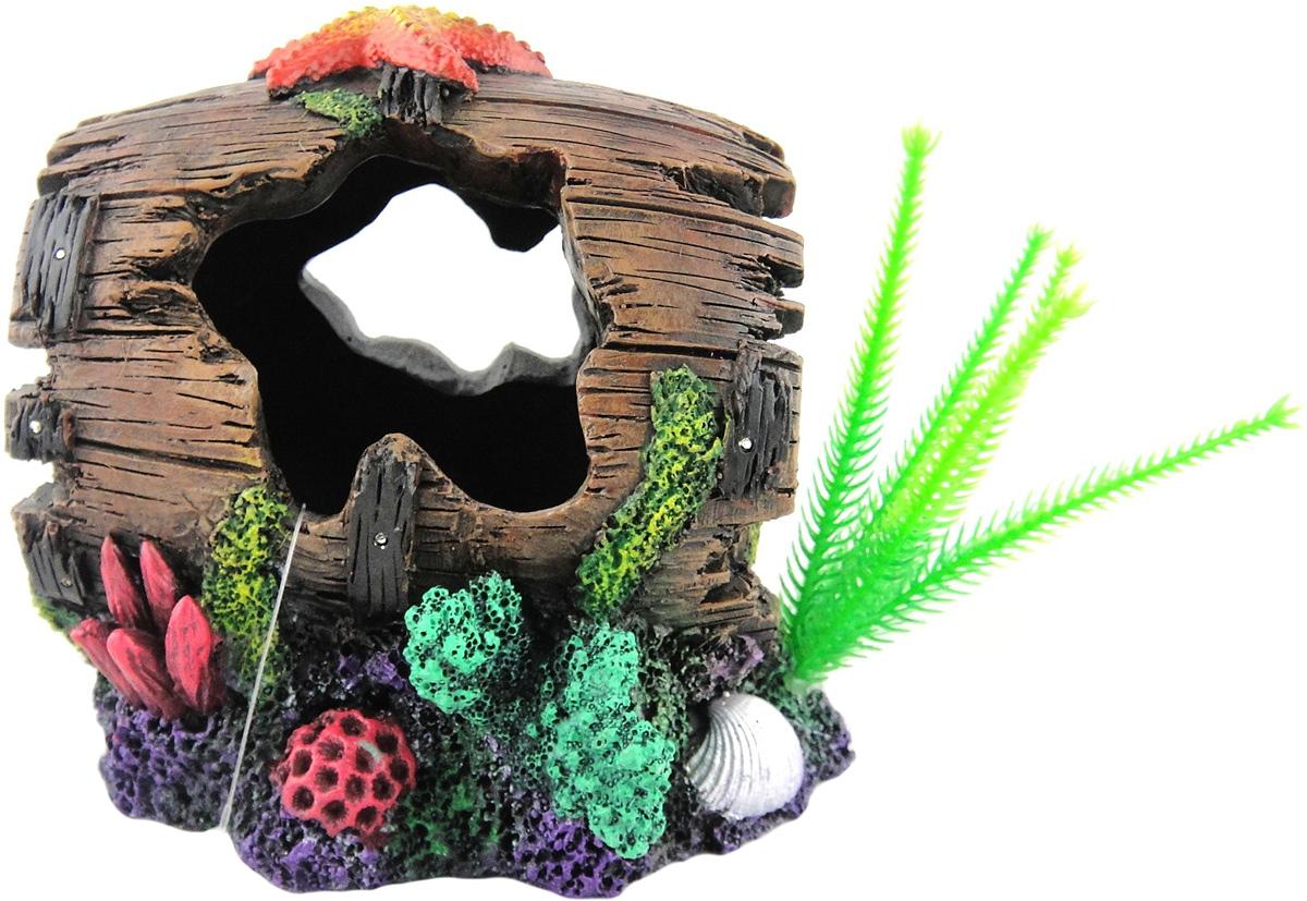 Грот Meijing Aquarium Бочка. YM-396YM-396