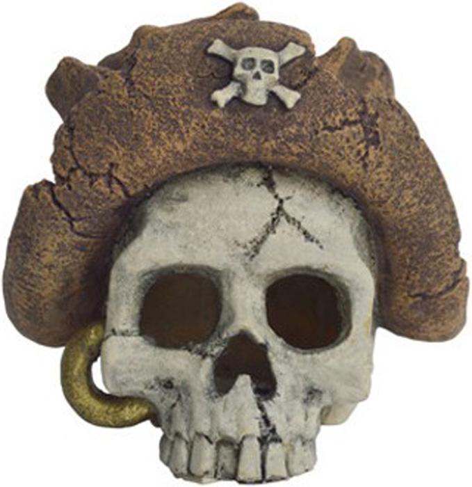Грот Meijing Aquarium Пиратский череп. MJA-027MJA-027