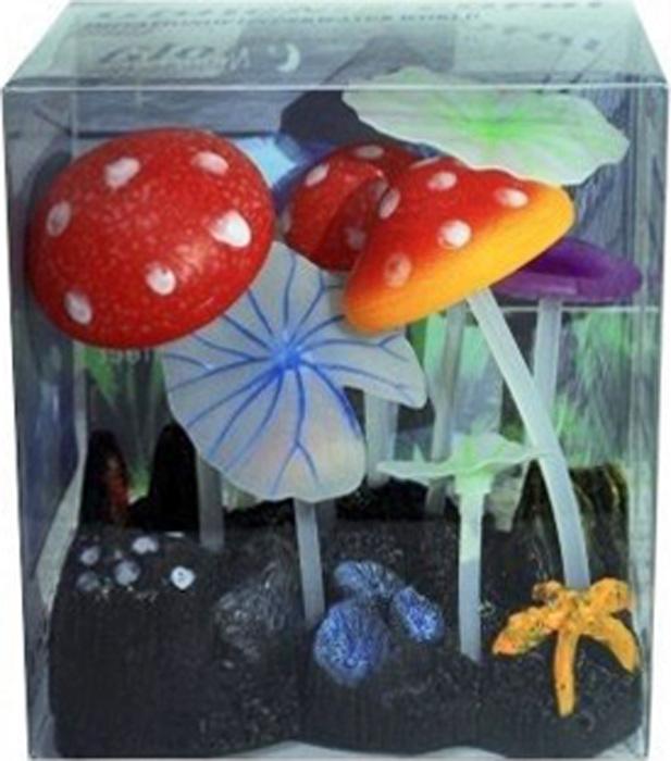Светящийся декор Meijing Aquarium Грибы. AM0013-2AM0013-2Светящиеся декорации в аквариуме- несомненно завораживающее и необычное зрелище.Светящийся декор Meijing Aquarium выполнен из высококачественных нетаксичных материалов и обладает эффектом накопления света. Светящиеся декорации превосходно украсят любой аквариум.