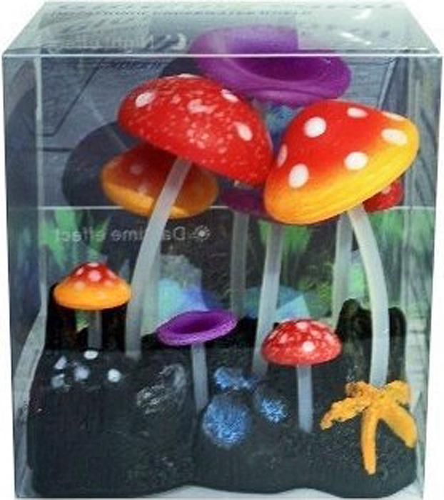 Светящийся декор Meijing Aquarium Грибы. AM0013-3AM0013-3
