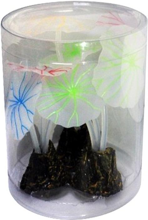 Светящийся декор Meijing Aquarium Грибы. AM0014AM0014Светящиеся декорации в аквариуме- несомненно завораживающее и необычное зрелище. Светящийся декор Meijing Aquarium выполнен из высококачественных нетаксичных материалов и обладает эффектом накопления света. Светящиеся декорации превосходно украсят любой аквариум.