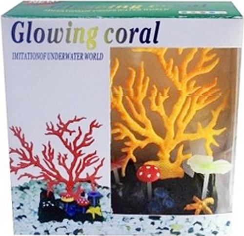 Светящийся коралл Meijing Aquarium Светящийся коралл, цвет: оранжевый. AM0015OAM0015OСветящиеся декорации в аквариуме- несомненно завораживающее и необычное зрелище. Светящийся декор Meijing Aquarium выполнен из высококачественных нетаксичныхматериалов и обладает эффектом накопления света. Светящийся коралл Meijing Aquariumпревосходно украсит любой аквариум.