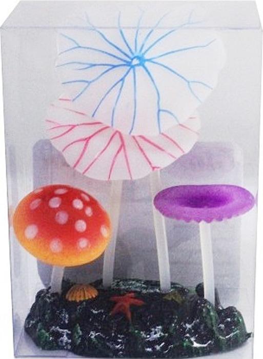Светящийся декор Meijing Aquarium Грибы. AM0016-1AM0016-1Уважаемые клиенты!Обращаем ваше внимание на цветовой ассортимент товара. Поставка осуществляется в зависимости от наличия на складе.