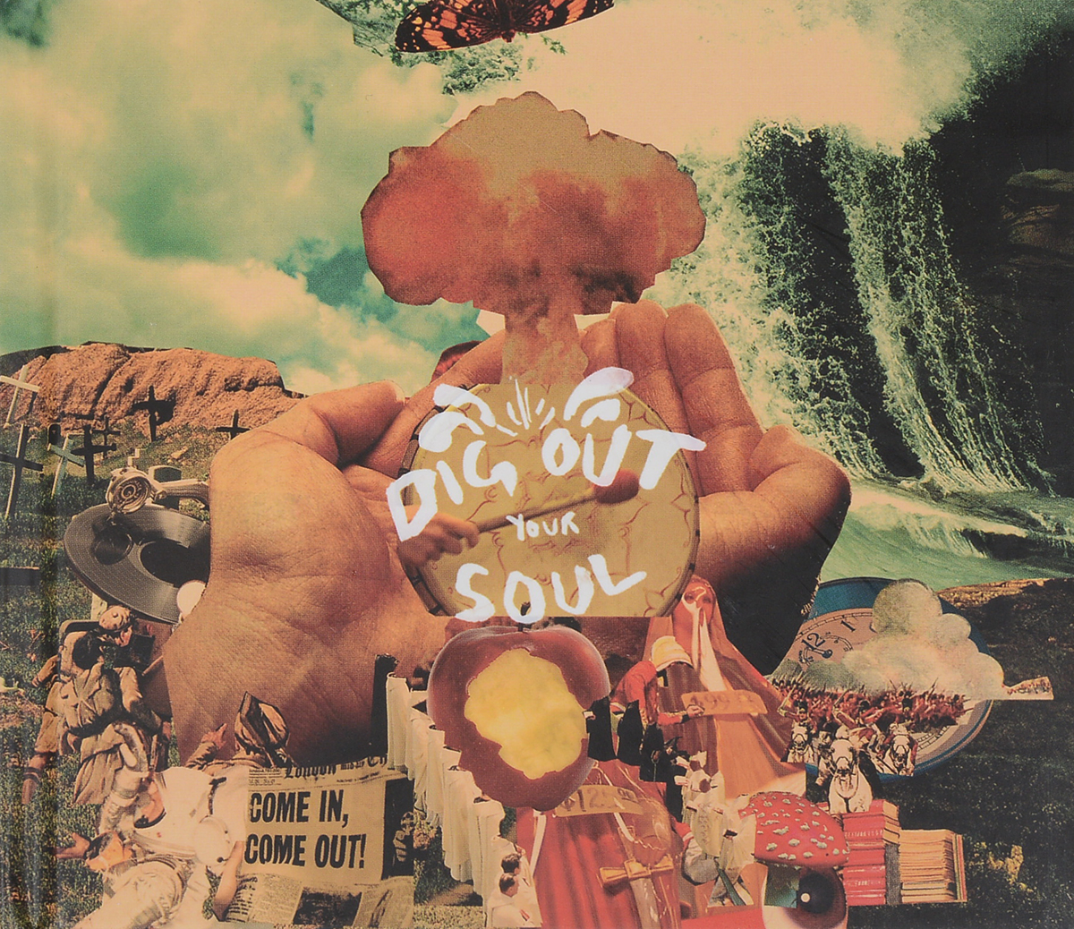Oasis . Dig Out Your Soul (CD + DVD)