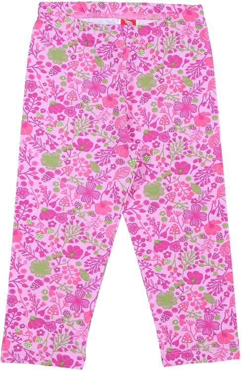 Бриджи для девочки Cherubino, цвет: розовый. CAK 7609. Размер 104CAK 7609Бриджи от Cherubino для девочки из трикотажа с эластаном, без бокового шва. Пояс обработан резиной швом в подгибку.