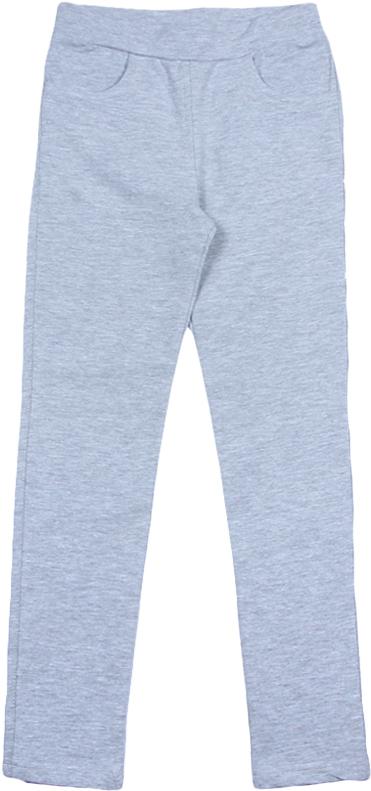 Брюки для девочки Cherubino, цвет: серый меланж. CWJ 7620 (162). Размер 158CWJ 7620 (162)Джеггинсы для девочки, из плотного трикотажа с эластаном, гладкокрашенные.