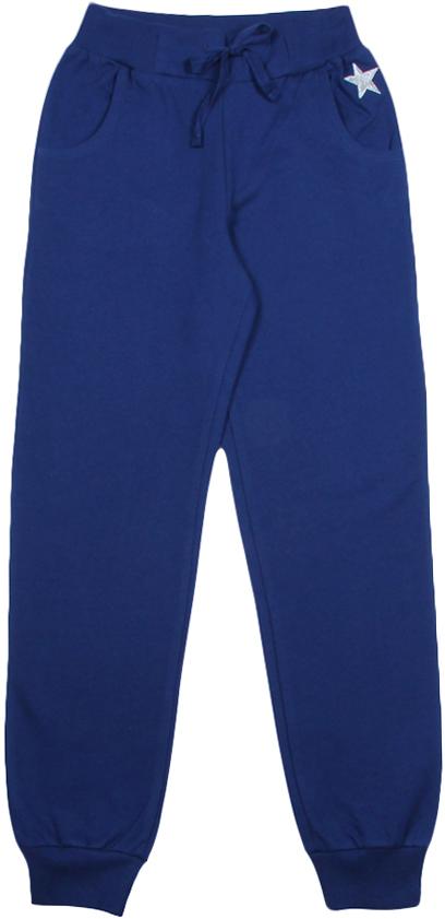 Брюки для девочки Cherubino, цвет: темно-синий. CWJ 7618 (162). Размер 128 брюки knot so bad для девочки цвет темно синий