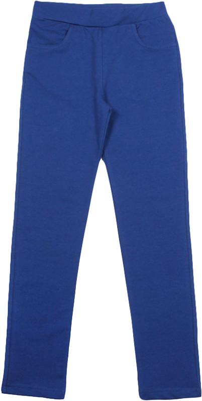 Леггинсы для девочки Cherubino, цвет: темно-синий. CWJ 7620 (162). Размер 158CWJ 7620 (162)Леггинсы для девочки от Cherubino выполнены из плотного трикотажа с эластаном, гладкокрашеные. Модель на эластичном поясе.