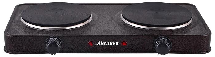 Аксинья КС-008, Brown плита электрическая диск плита аксинья кс 005 brown