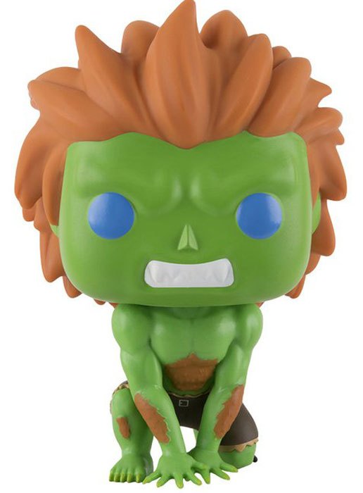 Funko POP! Vinyl Фигурка Games: Street Fighter: Blanka фигурка funko pop games street fighter blanka hyper fighting