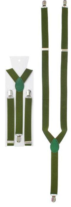 Подтяжки женские Mitya Veselkov, цвет: зеленый. 1157720. Размер универсальный1157720Стильные подтяжки Mitya Veselkov, выполненные из текстиля, идеально подойдут для вашего образа. Изделие можно регулировать по длине. Подтяжки прикрепляются к поясу брюк при помощи трех прочных зажимов, и надежно фиксируют брюки, не позволяя им сползать.