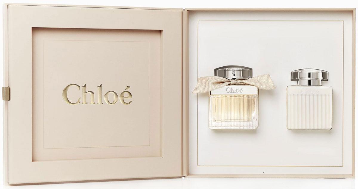 Chloe Signature Подарочный набор женский: Парфюмерная вода, 50 мл + Лосьон для тела, 100 мл туалетная вода chloe chloe love story eau sensuelle парфюмерная вода 30 мл