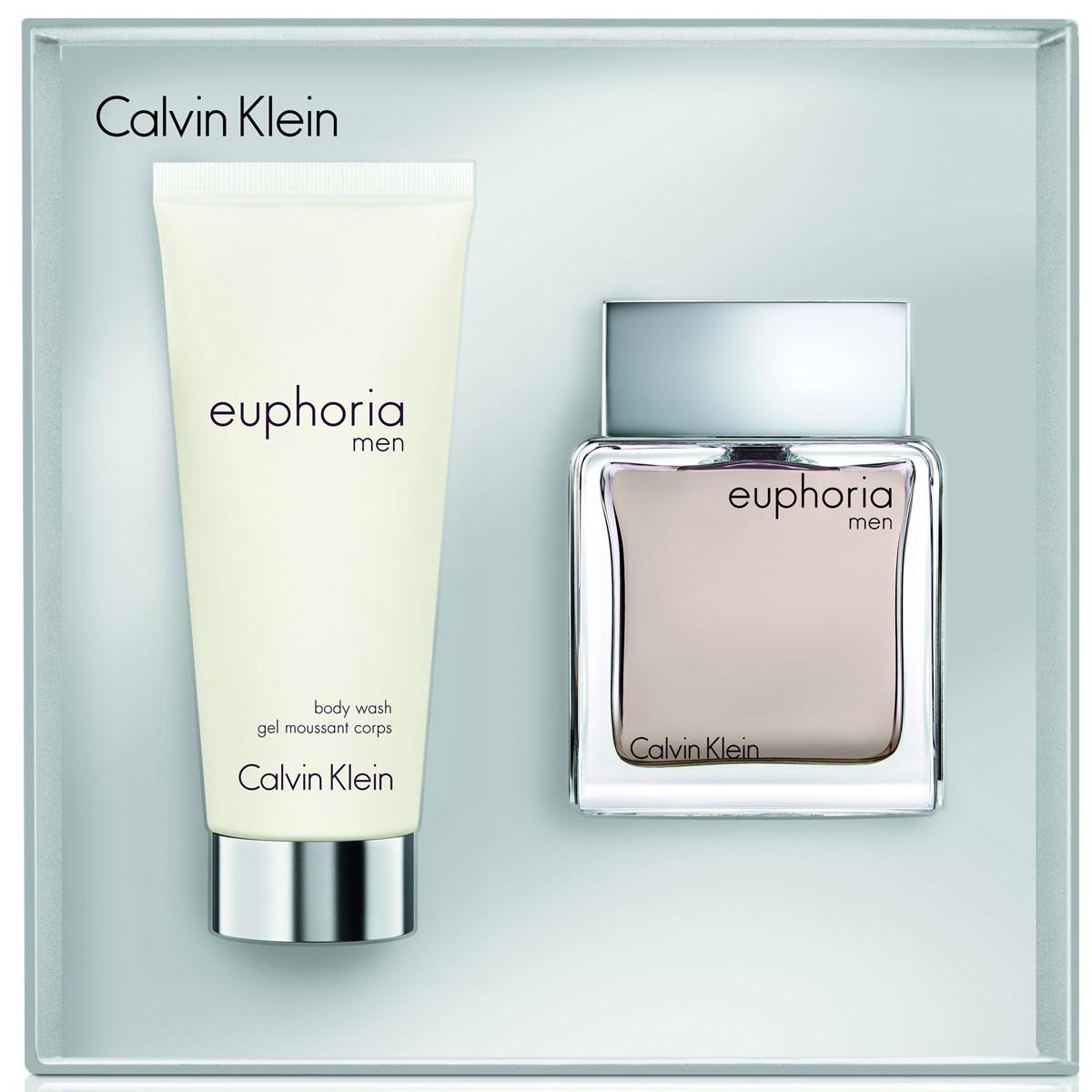 Calvin Klein Euphoria For Man Подарочный набор мужской: Туалетная вода, 50 мл + гель для душа 100 мл65224787000