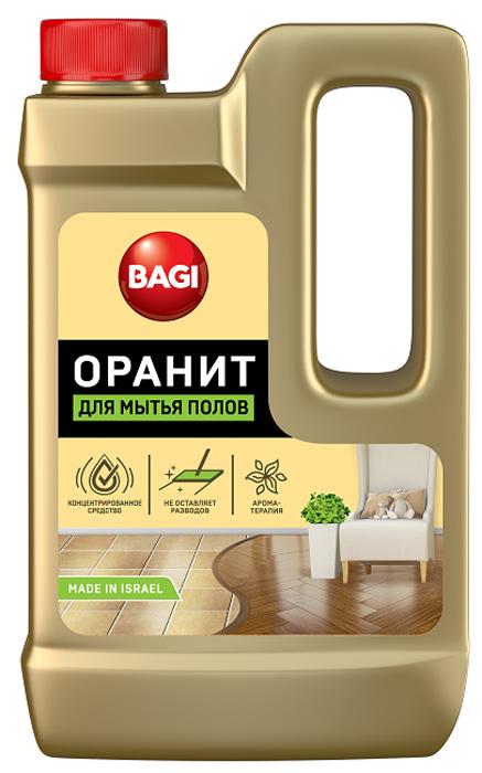 Средство для мытья полов Bagi Оранит, 550 млH-769107-0Bagi Оранит - это высокоэффективное концентрированное средство для мытья, очистки и придания блеска полам из любых материалов, в том числе из дерева, паркета, ламината, мрамора, гранита. Удаляет стойкие пятна, грязь, жиры. Сохраняет на длительный срок блеск и приятный запах в помещении.Товар сертифицирован.