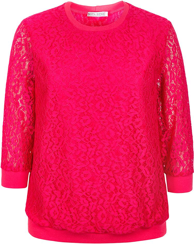Блузка для девочки Nota Bene, цвет: фуксия. 17423030291. Размер 14017423030291