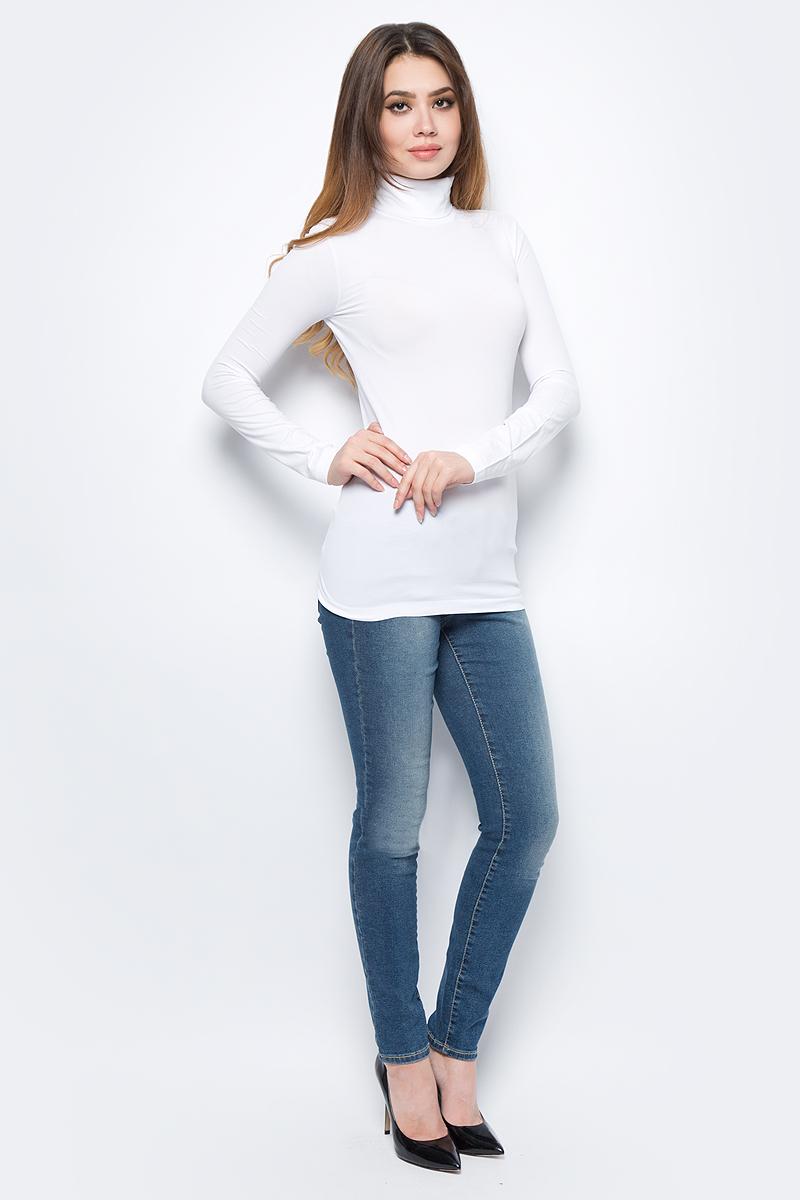 Водолазка жен United Colors of Benetton, цвет: белый. 1X1BD2240_101. Размер универсальный1X1BD2240_101