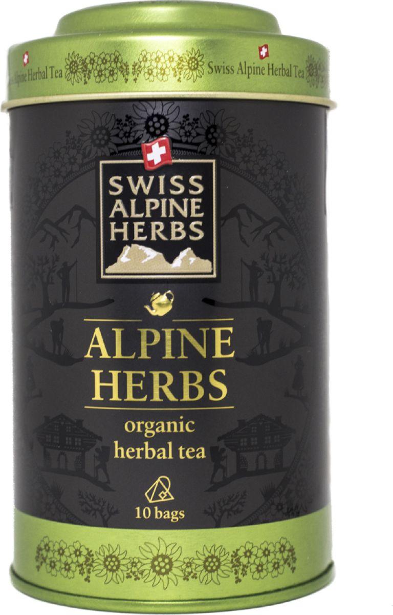 Swiss Alpine Herbs травяной чай альпийские травы в пакетиках, 10 штSAH8004OESwiss Alpine Herbs Свежесть альпийского утра – это вкусный, бодрящий и тонизирующий напиток. В его состав входят альпийские травы: мята яблочная, монарда двойчатая, крапива, цветки липы, кусочки яблок, лепестки подсолнечника и цветки василька голубого. Не просто вкусный, но и очень полезный чай обеспечит ваш организм полезными витаминами. Всё о чае: сорта, факты, советы по выбору и употреблению. Статья OZON Гид