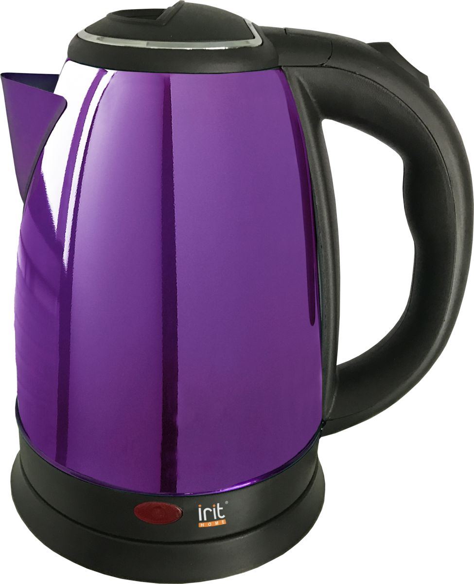 Irit IR-1336, Violet чайник электрический электрический чайник irit ir 1314 silver red