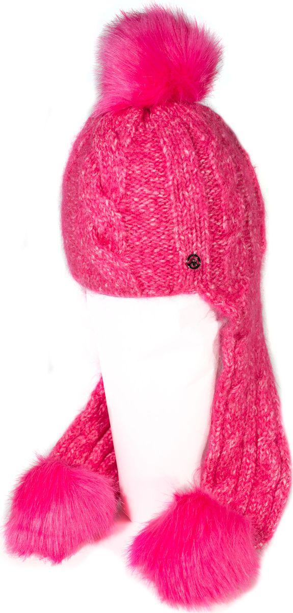 Шапка женская Mitya Veselkov, цвет: фуксия. SH2010-6. Размер универсальныйSH2010-6Качественная, яркая шапка. Согреет Вас зимой и станет заметным элементом Вашего стиля.