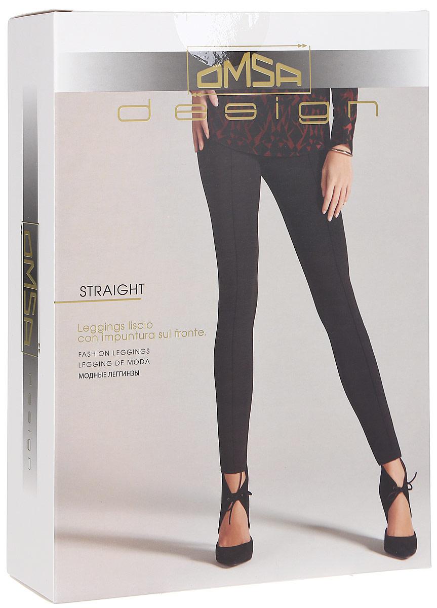 Леггинсы женские Omsa Straight, цвет: кофейный. SNL-343577. Размер M (46)