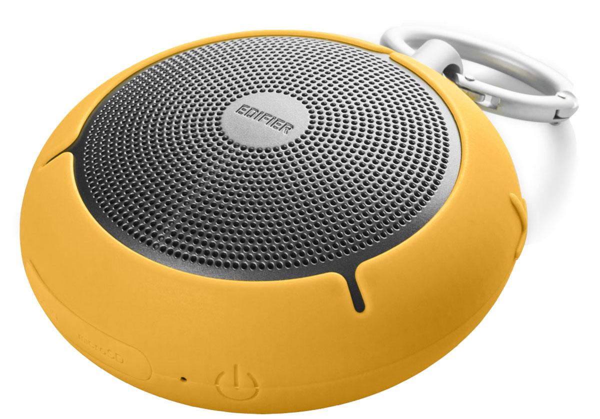 Edifier MP100, Yellow портативная акустическая системаMP100 YellowМногофункциональная портативная акустическая система Edifier MP100. Совместимость с технологией Bluetooth 4.0 и функцией microSD дает вам несколько способов воспроизведения ваших любимых треков, а встроенный микрофон с функцией шумоподавления превращает систему в надежного секретаря.Встроенный аккумулятор высокой емкости позволяет использовать MP100 до 20 часов в режиме воспроизведения музыки.МР100 не страшны капризы погоды. Высокая степень влагозащиты подтверждена стандартом IP54.