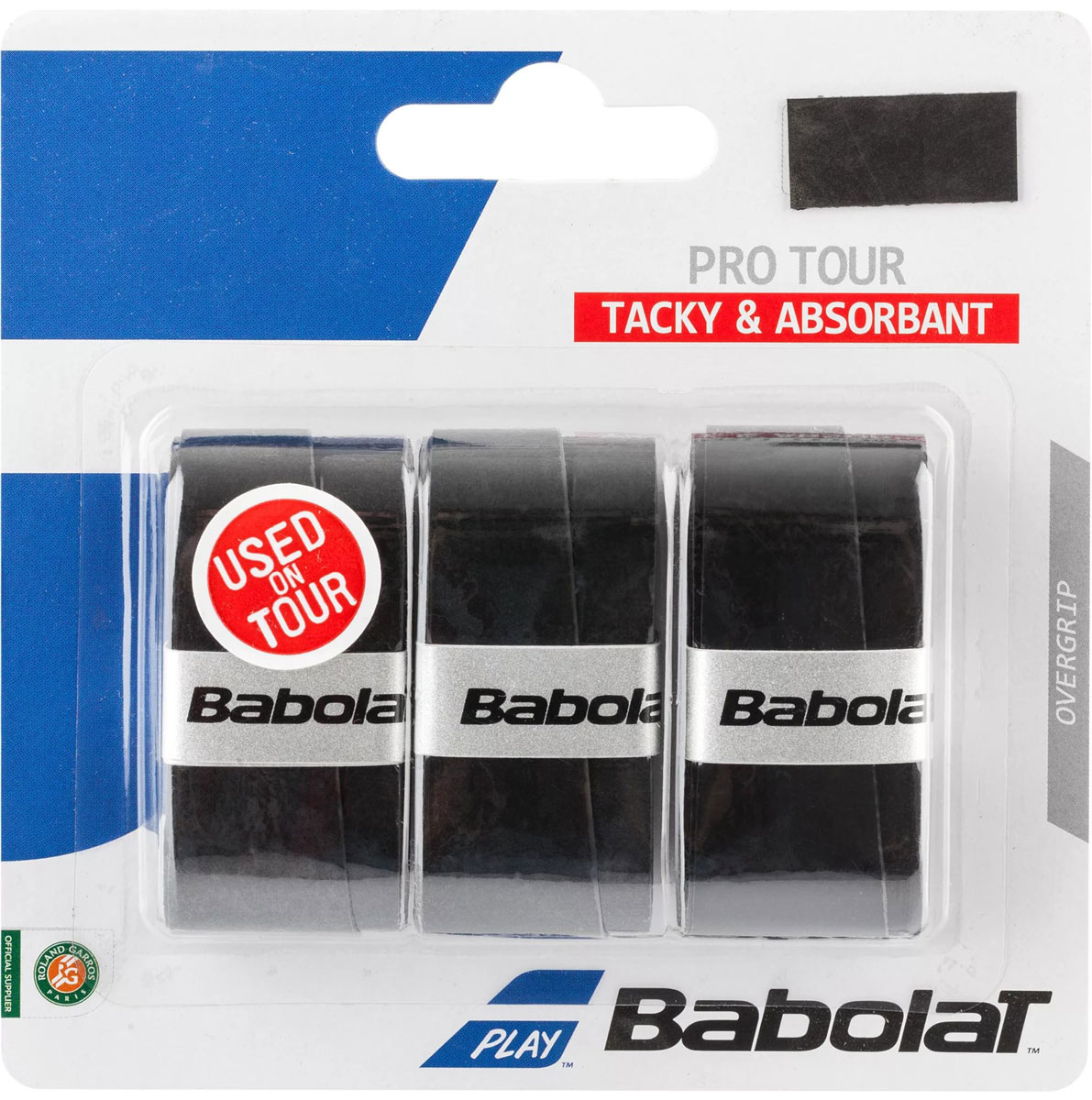 Овергрип Babolat Pro Tour X3, цвет: черный653037Овергрип Babolat Pro Tour X3 изготовлен из полимерных материалов с липкой поверхностью.Особенности: Отличное влагопоглощениеДолговечность, устойчивость к истираниюВ комплект входят 3 овергрипа.