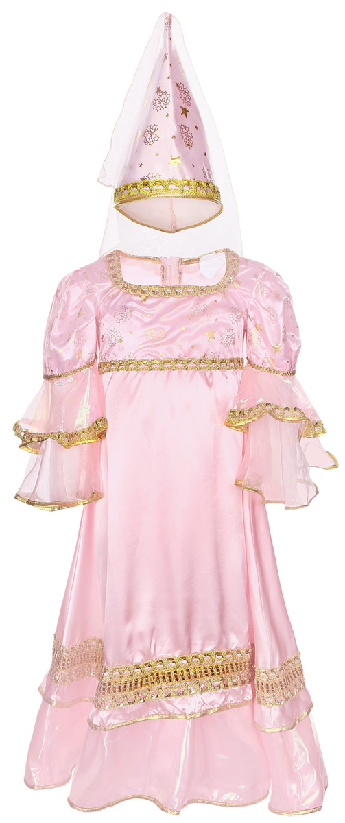 Карнавалия Карнавальный костюм для девочки Розовая фея размер 110