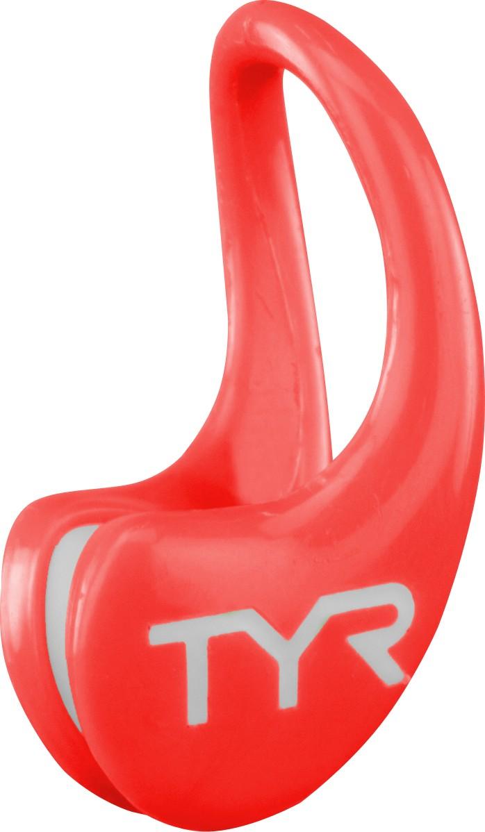 Зажим для носа Tyr Ergo Swim Clip, цвет: красный. LERGOLERGOЗажим для носа изготовлен из высококачественного силикона и обладает идеальной формой. С внутренней стороны зажима имеются небольшие подушечки из пластичной резины, благодаря которым обеспечивается его дополнительная фиксация, а также комфортность его ношения.