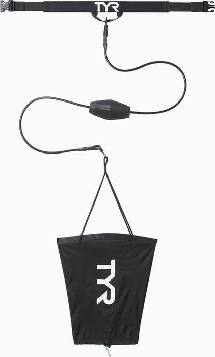 Тормозной пояс с парашютом TYR  Riptide Drag Chute , цвет: черный. LDRAGCH - Плавание