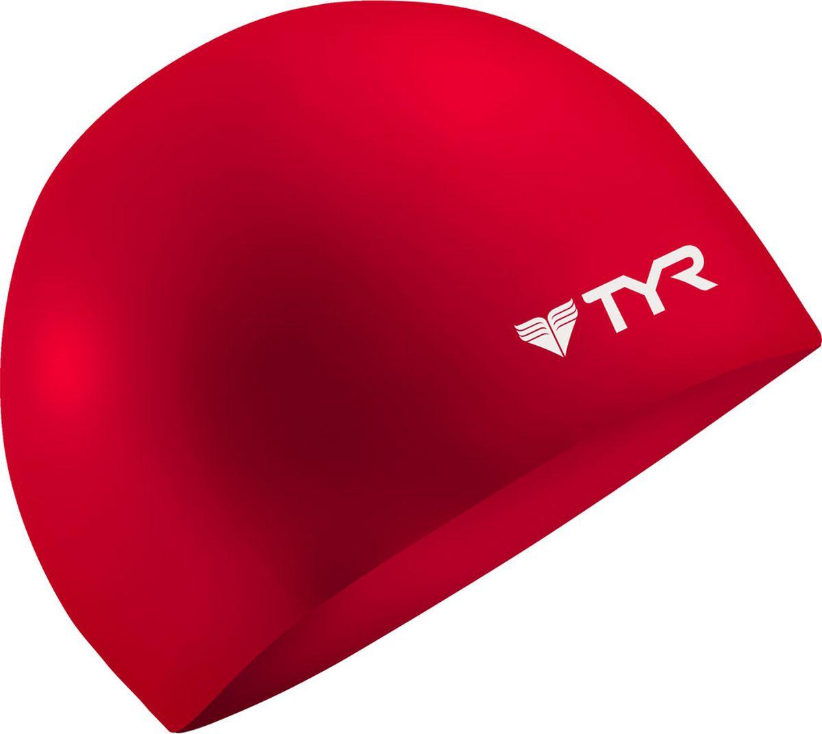 Шапочка для плавания Tyr Wrinkle Free Silicone Cap, цвет: красный. LCSLCSСиликоновая шапочка TYR Wrinkle Free – изготовлена из высококачественного материала устойчивого к воздействию хлорированной воды, что гарантирует долгий срок службы. Материал шапочки не вызывает раздражения кожи и других аллергических реакций. Прекрасный вариант для тренировок в бассейне.