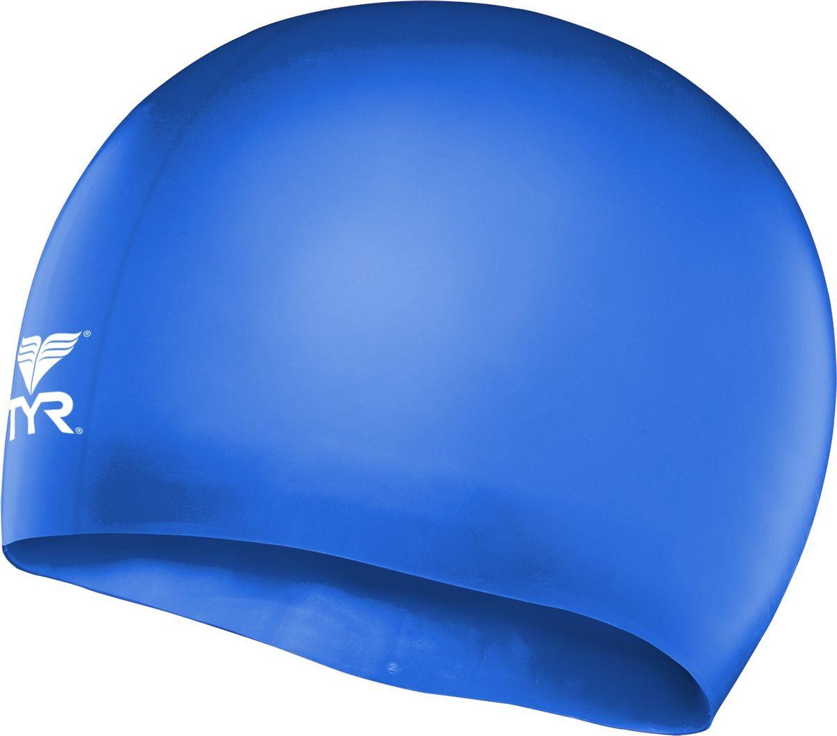 Шапочка плавательная Tyr Wrinkle Free Junior Silicone Cap, цвет: голубой. LCSJRLCSJRДетская силиконовая шапочка TYR Wrinkle Free – изготовлена из высококачественного материала устойчивого к воздействию хлорированной воды, что гарантирует долгий срок службы. Материал шапочки не вызывает раздражения кожи и других аллергических реакций. Прекрасный вариант для тренировок в бассейне.