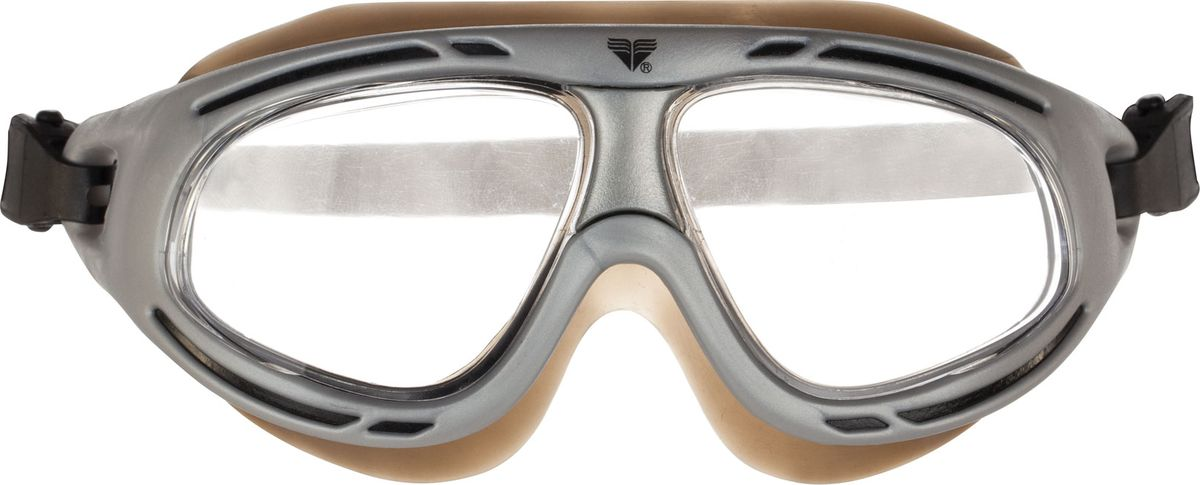 Маска для плавания Tyr Hydrovision, цвет: серый. LGHMSKLGHMSKМаска Tyr Hydrovision отлично подойдет как для занятий спортом и отдыхом на открытой воде, так и для тренировок в бассейне. Широкие выгнутые линзы обеспечивают четкий обзор под водой. Уплотнитель и ремешок, изготовленные из силикона, обеспечивают комфортную и удобную посадку маски. Линзы снабжены защитой от ультрафиолетовых лучей и покрыты антифогом против запотевания.
