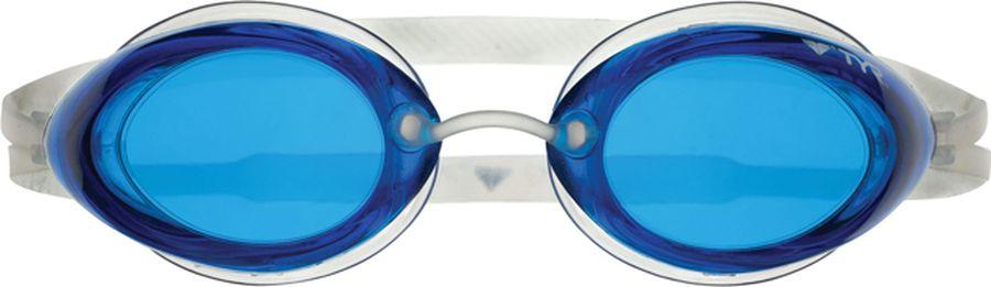 Очки для плавания Tyr Tracer Racing, цвет: голубой. LGTRLGTRСтартовые очки для плавания TYR Tracer Racing подходят для профессионалов и любителей. Преимущество этик очков заключается в разделенных линзах, которые обеспечивают расширенный фронтальный обзор. Уплотнитель из специального мягкого силикона обеспечивает комфорт, герметичность, а низкопрофильные линзы способствуют лучшей гидродинамике. В комплект входят четыре сменных носовых дужек для идеальной подгонки очков. Двойной резиновый ремешок дает возможность максимально удобно настроить очки. Линзы защищают глаза от воздействия ультрафиолетовых лучей и обработаны раствором антифог.