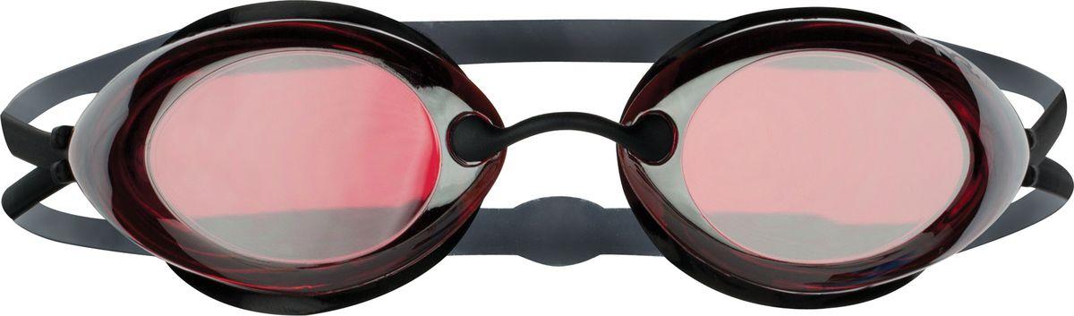 Очки для плавания Tyr Tracer Racing Mirrored, цвет: красный, серебристый. LGTRMLGTRMСтартовые очки для плавания TYR Tracer Racing с зеркальными линзами подходят для профессионалов и любителей. Преимущество этик очков заключается в разделенных линзах, которые обеспечивают расширенный фронтальный обзор. Уплотнитель из специального мягкого силикона обеспечивает комфорт, герметичность, а низкопрофильные линзы способствуют лучшей гидродинамике. В комплект входят четыре сменных носовых дужек для идеальной подгонки очков. Двойной резиновый ремешок дает возможность максимально удобно настроить очки. Линзы защищают глаза от воздействия ультрафиолетовых лучей и обработаны раствором антифог.