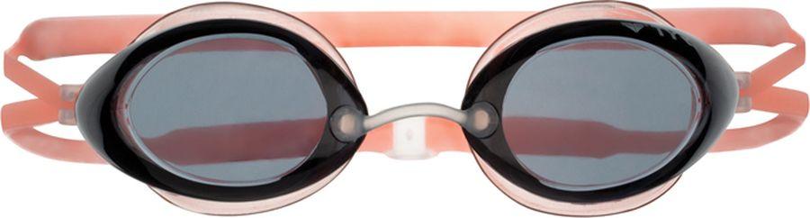 Очки для плавания TYR Tracer Junior Racing, цвет: дымчатый, оранжевый. LGTRYLGTRYДетские стартовые очки для плавания Tyr Tracer Junior Racing подходят для профессионалов и любителей. Преимущество этих очков заключается в разделенных линзах, которые обеспечивают расширенный фронтальный обзор. Уплотнитель из специального мягкого силикона обеспечивает комфорт, герметичность, а низкопрофильные линзы способствуют лучшей гидродинамике. В комплект входят четыре сменных носовых дужек для идеальной подгонки очков. Двойной резиновый ремешок дает возможность максимально удобно настроить очки. Линзы защищают глаза от воздействия ультрафиолетовых лучей и обработаны раствором антифог.