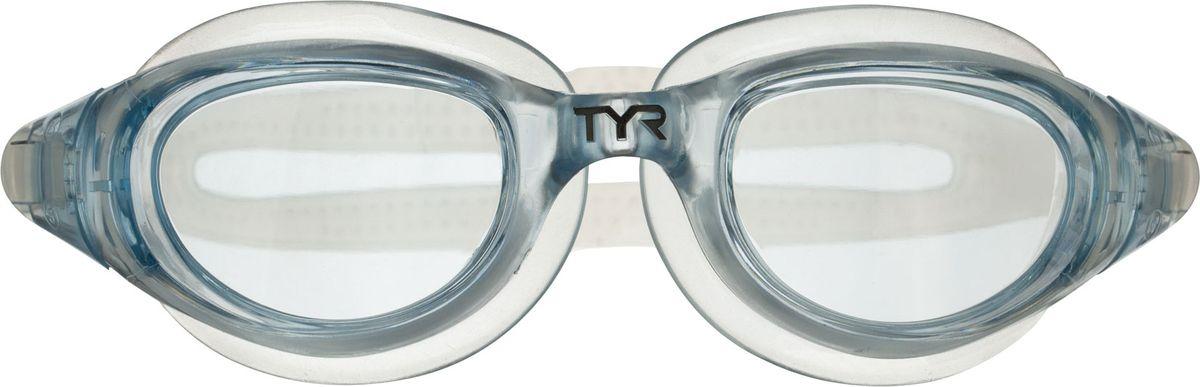 """Очки для плавания Tyr """"Technoflex 4.0"""", цвет: прозрачный. LGX4"""