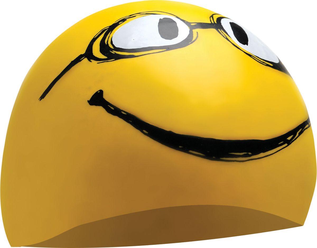 Шапочка для плавания Tyr Have A Nice Day, цвет: желтый. LCSMILEYLCSMILEYСиликоновая шапочка c ярким принтом TYR Have A Nice Day – изготовлена из высококачественного материала устойчивого к воздействию хлорированной воды, что гарантирует долгий срок службы. Материал шапочки не вызывает раздражения кожи и других аллергических реакций. Прекрасный вариант для тренировок в бассейне.