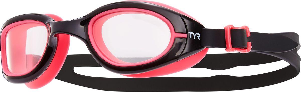 Очки для плавания Tyr Special Ops 2.0 Transition Femme, цвет: черный, розовый. LGSPXSLGSPXSОни обыграли саму мать-природу, очки Special Ops 2.0 с фотохромными линзами. Передовая технология реагирует на изменение условий освещенности, автоматически изменяет цвет линзы от дымчатого (на открытой воде) к прозрачному (в бассейне) и наоборот. Позволяет плавать, не обращая внимания на то светит ли ярко солнце или облачная погода. Все очки серии TYRSpecialOPS 2.0 имеют прочный, силиконовый, гипоаллергенный уплотнитель, который сохраняет защиту от протекания и форму в течение всего срока службы. Линзы во всех очках серии TYRSpecialOPS 2.0 уже обработаны средством предотвращающим запотевание линз, что исключает необходимость в течение продолжительного времени повторное использование спрея. Объединённая конструкция переносицы идеально подходит под разные типы строения лица, также очки обладают широким периферическим обзором для оптимального видения в воде. TYRSpecialOPS 2.0 - наши лучшие очки для универсального использования, они идеально подойдут для триатлона, плавания в открытой воде, и тренировок в бассейне.