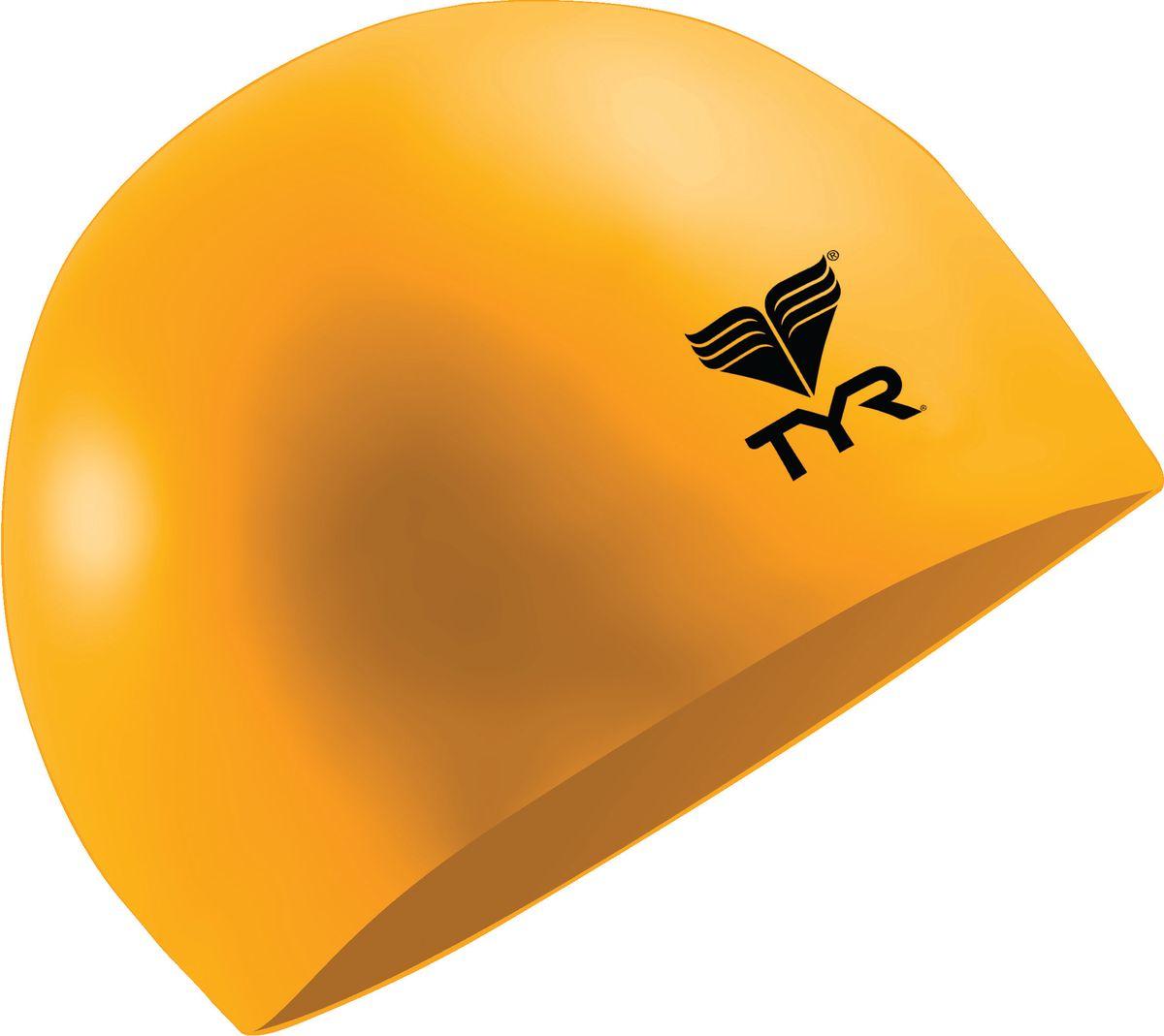 Шапочка для плавания Tyr Latex Swim Cap, цвет: оранжевый. LCLLCLШапочка TYR Latex - изготовлена из высококачественного латекса. Прочный, мягкий материал приятный на ощупь. Очень удобная модель для посещения тренировок в бассейне. Благодаря своей эластичности не давит на голову.