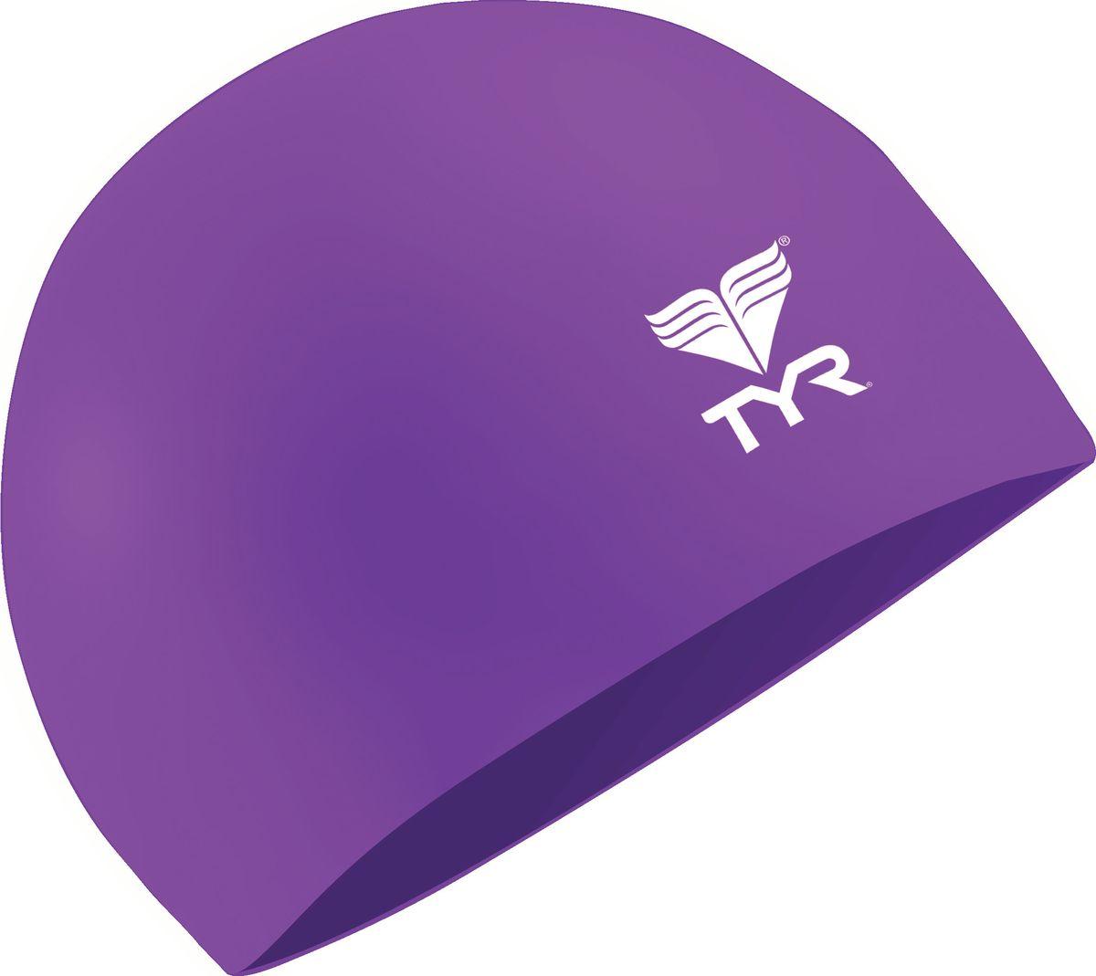 Шапочка для плавания Tyr Latex Swim Cap, цвет: фиолетовый. LCLLCLШапочка TYR Latex - изготовлена из высококачественного латекса. Прочный, мягкий материал приятный на ощупь. Очень удобная модель для посещения тренировок в бассейне. Благодаря своей эластичности не давит на голову.
