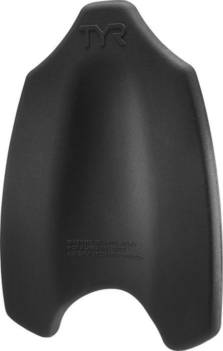 Доска для плавания Tyr Hydrofoil Kickboard, цвет: черный. LHYDKB